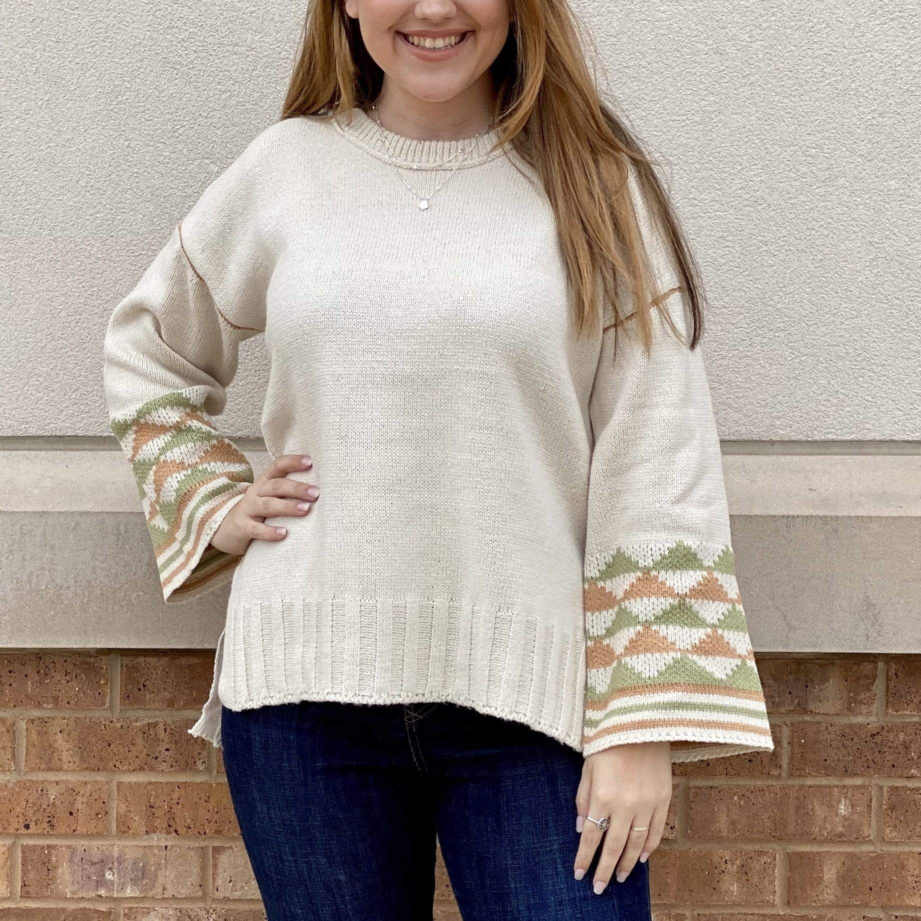Let's Lounge Sweater - Brave Boutique