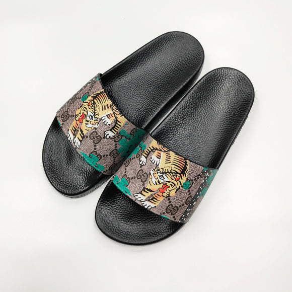 Couple Brandslipper Summer Beach Flip Flops Luxury Slides  15 - Dominick's Boutique