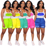 (Wholesale Bundle 5+ WSSH)  tank top outfits shorts crop top tracksuit shirts