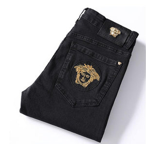 Vèrsácè High Quality Men Straight Jeans