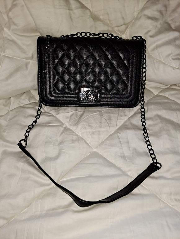 CC Small Crossbody Black Bag