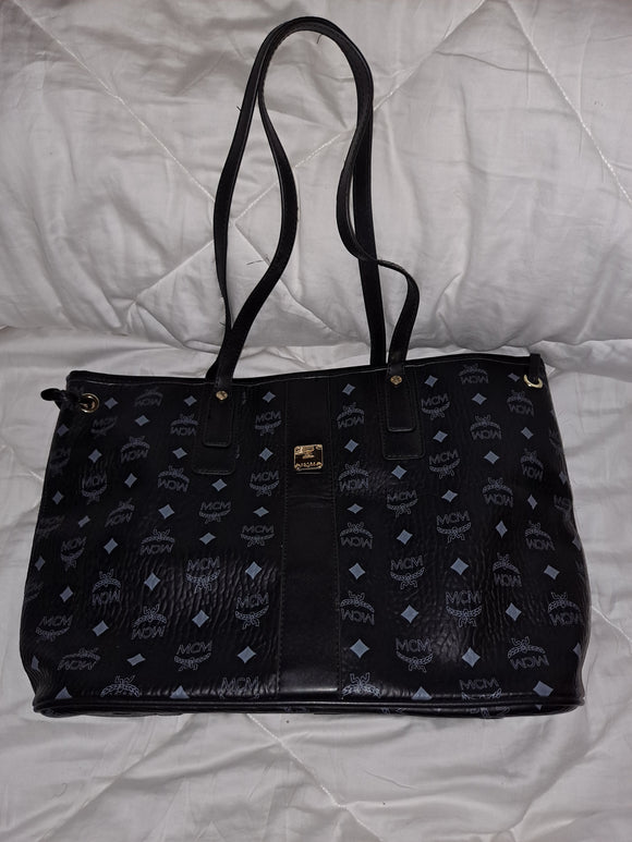 Black MCM Big Bag