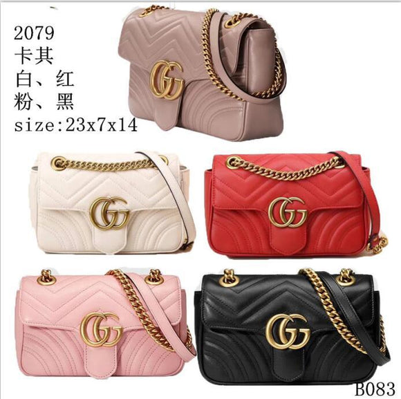(Wholesale Quantity 5+ WSHB) GG Chain Crossbody Bags