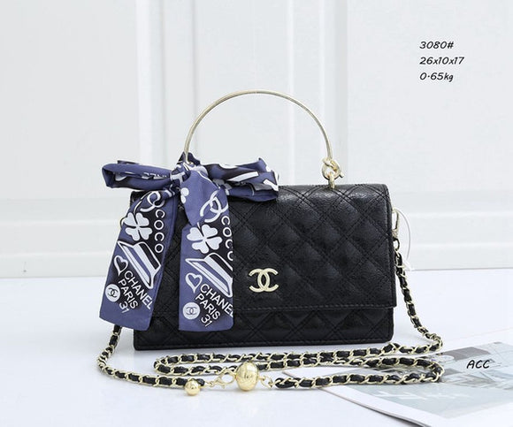 (Wholesale Quantity 5+ WSHB) Chanel Scarf Crossbody Single shoulder bag