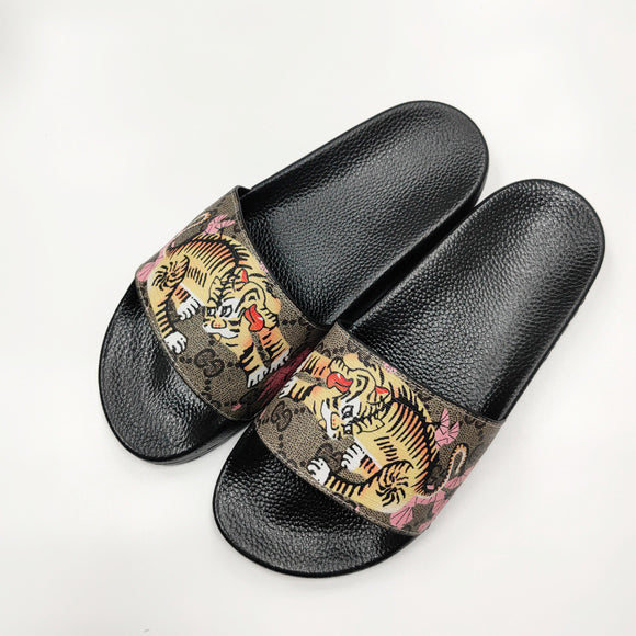 Couple Brandslipper Summer Beach Flip Flops Luxury Slides  13 - Dominick's Boutique