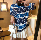 LV luxury short sleeves fashion t-shirts