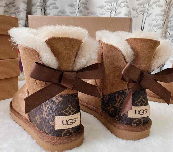 FB Live Copy of LV Comfy Ugg Boots