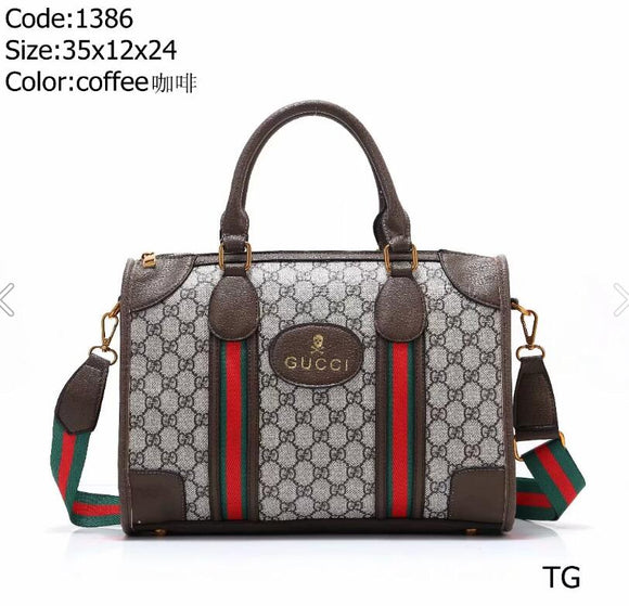 luxury handbag designers wallet luggage hand luggage bag travel bag Coffee - Dominick's Boutique