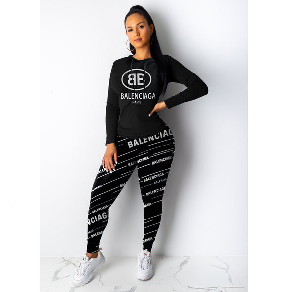 Lux Sexy Tracksuits Letter Set 2# - Dominick's Boutique