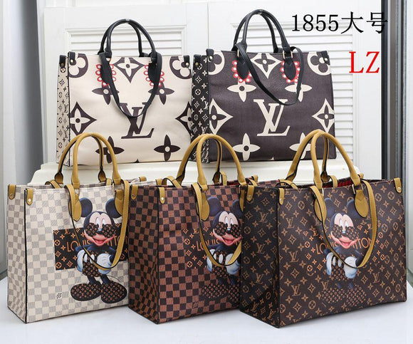 (Wholesale Quantity 5+ WSHB) Disney & Jungle  Single shoulder bag