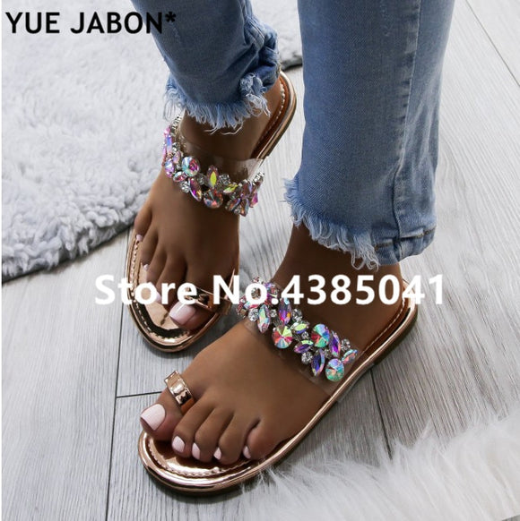 Destiny Crystal Sandals