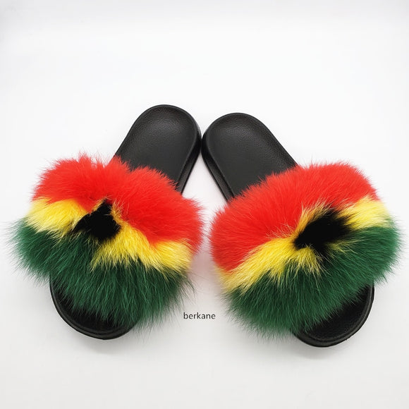 Sensual Fluffy Sliders - Dominick's Boutique