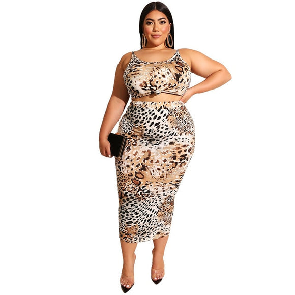 Comfy Leopard/Snake Skin Set - Dominick's Boutique