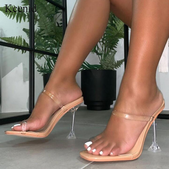Sexy women shoes open toed high heels sandals - Dominick's Boutique