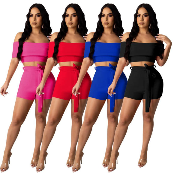 Jameela Sexy Top & Shorts Set - Dominick's Boutique