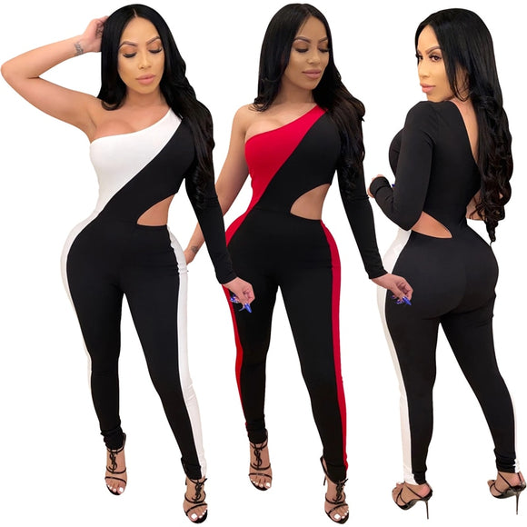 Joma One Shoulder Sexy Bodysuit