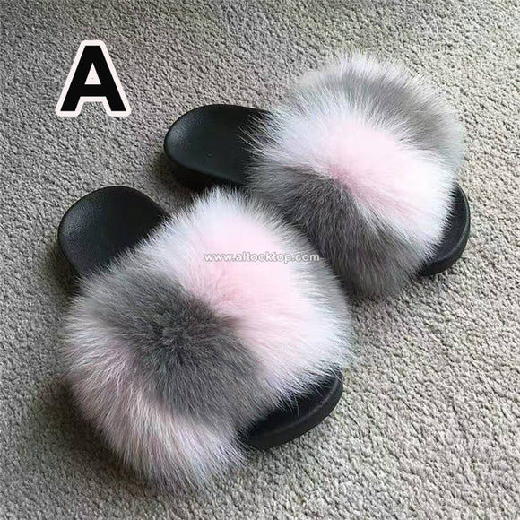 Flat Fur Flip Flops - Dominick's Boutique