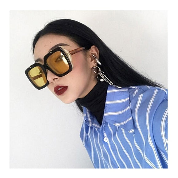 Square Sunglasses Retro