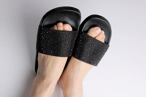 COOLSA Rhinestone Bling Slides - Dominick's Boutique