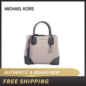 Michael Kors MK Mercer Gallery Small Color-block Leather Satchel Lux Handbag - Dominick's Boutique