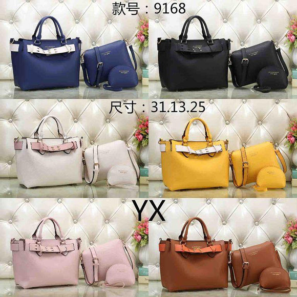 (Wholesale Quantity 5+ WSHB) BB 3 Pc Bags Set