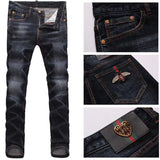 GG Jeans male embroidered pants