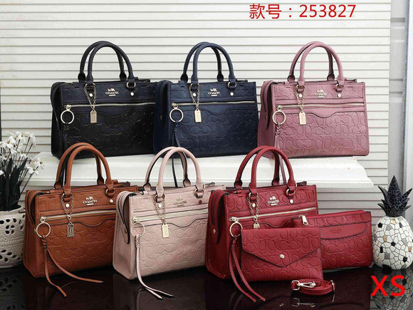 (Wholesale Quantity 5+ WSHB) Coach3 Pc Set Bag