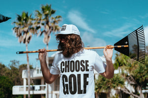 choose-golf-white-tee-shirt-t-hat-snapback-cap-birds-of-condor