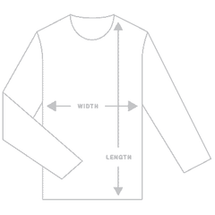 birds-of-condor-long-sleeve-tee-size-guide