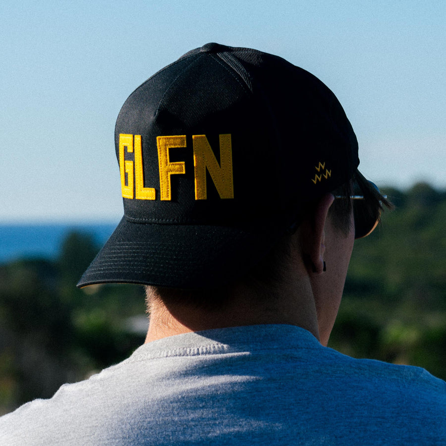 black-yellow-glfn-golf-cap-birds-of-condor-snapback-hat