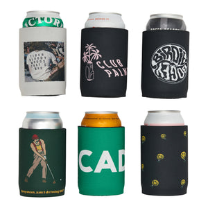 Rizz the Caddy Beer Koozie