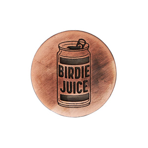 birds-of-condor-birdie-juice-copper-golf-ball-mark-front