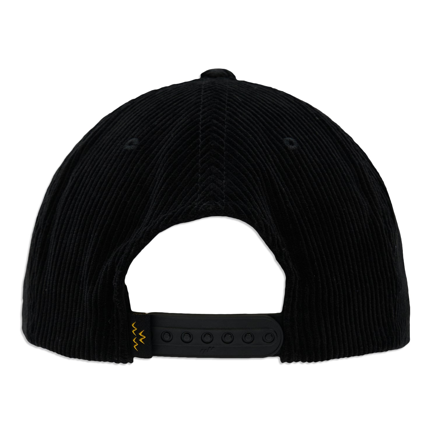 birds-of-condor-black-corduroy-weekend-warrior-golf-surf-skate-snow-nba-basketball-snapback-rope-hat-front