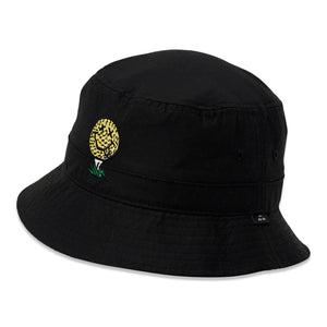 birds-of-condor-black-golf-ball-neverfind-bucket-hat-front