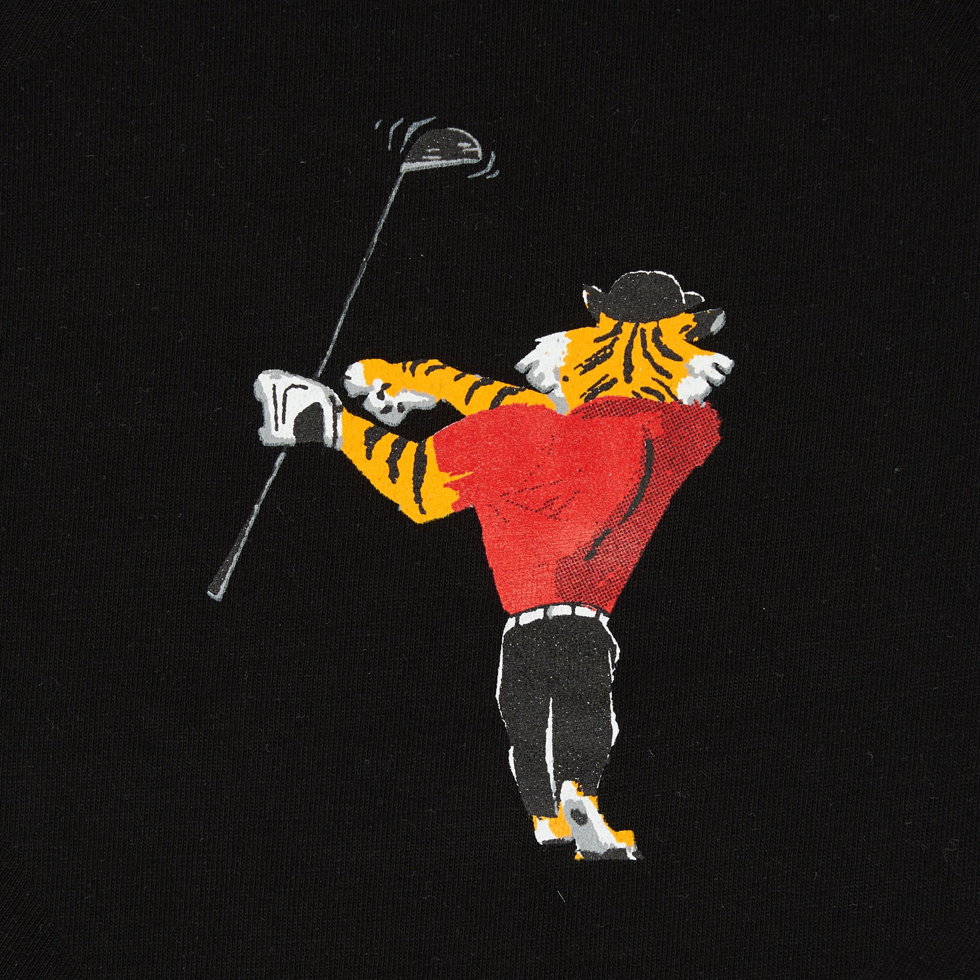 birds-of-condor-black-golf-tee-shirt-le-tigre-front