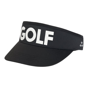 birds-of-condor-black-golf-visor-hat-front