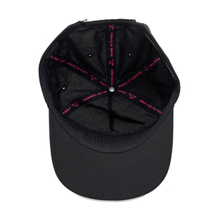 birds-of-condor-black-pink-orange-golf-fore-nylon-summer-cap-hat-inside