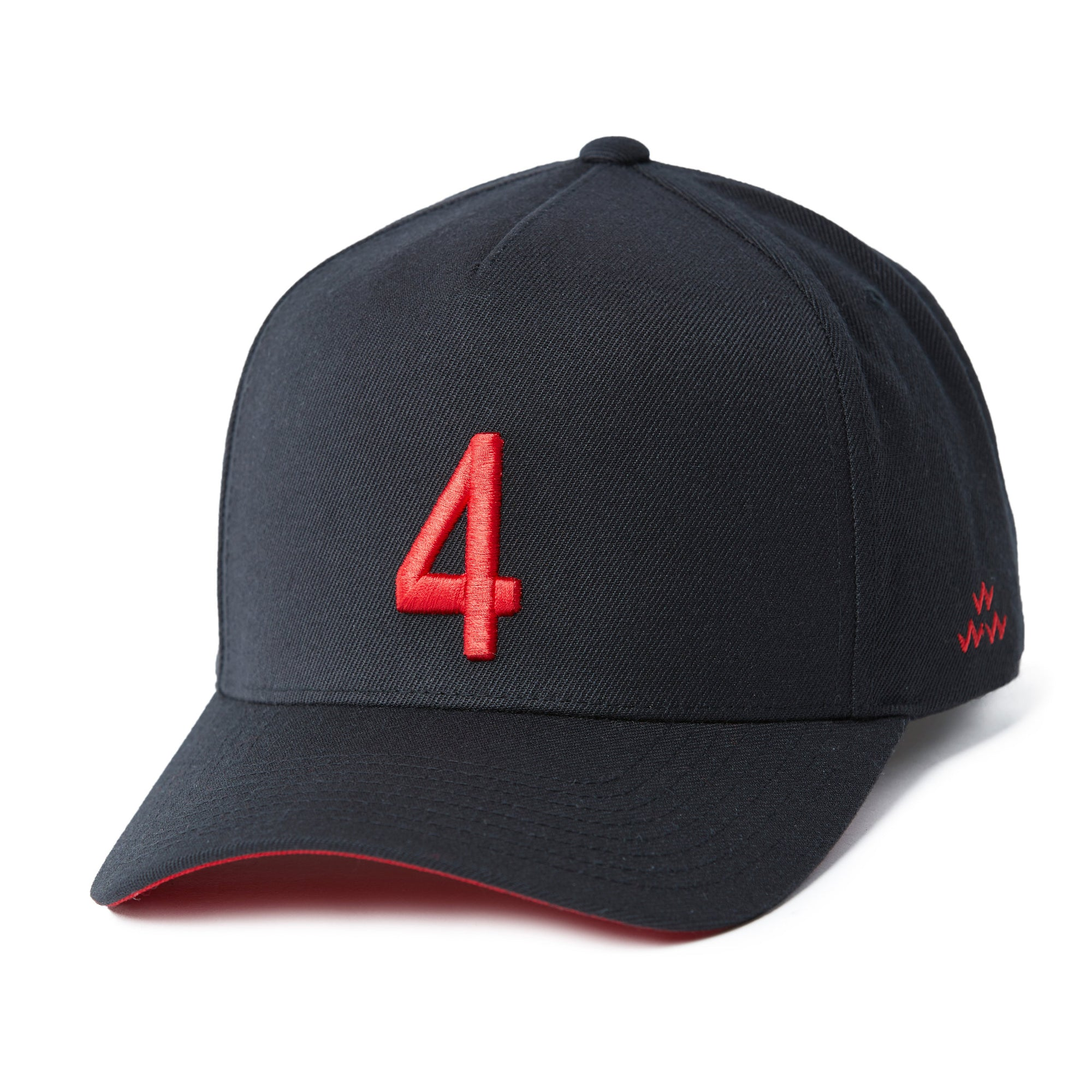 birds-of-condor-black-red-golf-fore-4-snapback-a-frame-hat