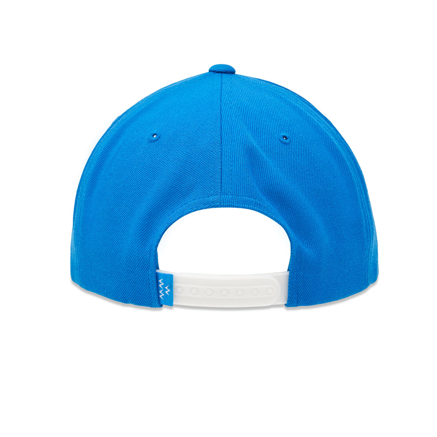 birds-of-condor-blue-golf-bogey-snapback-hat-front