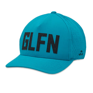 birds-of-condor-blue-golf-glfn-golfing-snapback-a-frame-hat-front