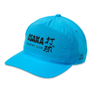 birds-of-condor-blue-golf-osaka-country-club-nylon-summer-cap-hat-front