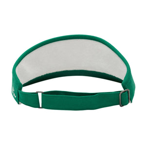 birds-of-condor-green-golf-caddy-caddie-visor-hat-back