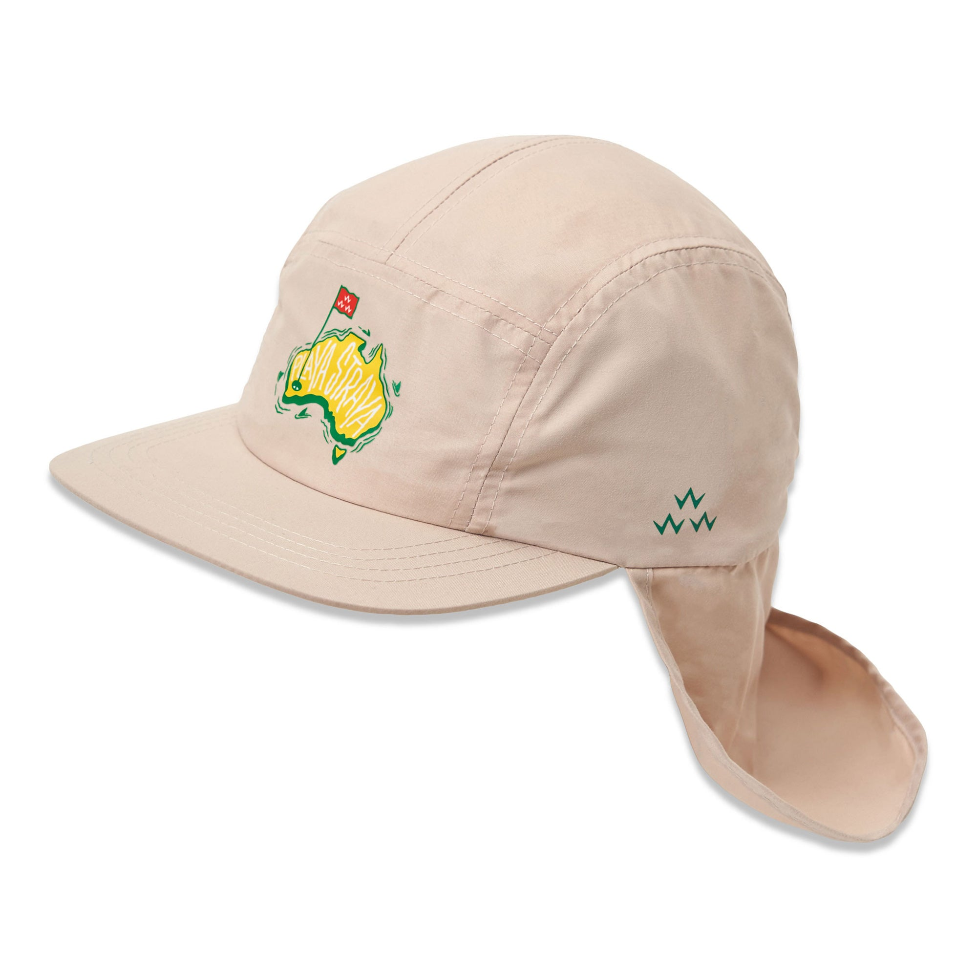 birds-of-condor-natural-golf-legionnaires-australia-map-hat-cap-front