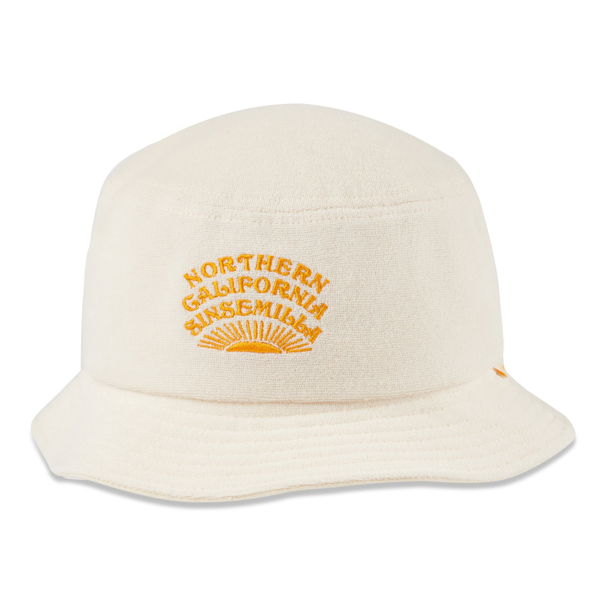 birds-of-condor-natural-golf-northern-california-sinsemilla-terry-towelling-bucket-hat-front