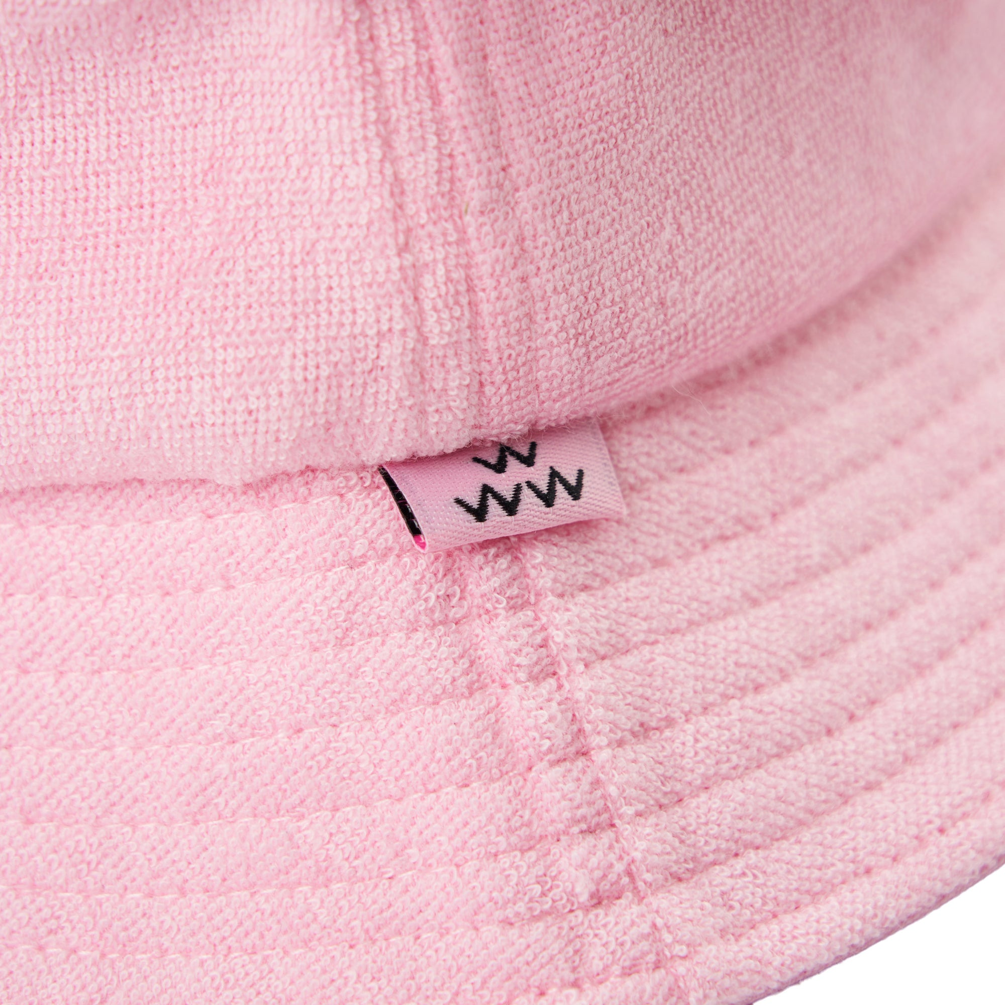birds-of-condor-pink-golf-mowie-wowie-terry-towelling-bucket-hat-front