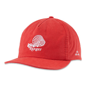 birds-of-condor-red-golf-range-ranger-soft-peak-hat-cap-front