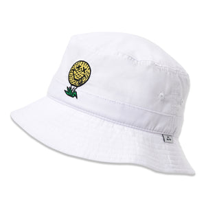birds-of-condor-white-golf-ball-neverfind-bucket-hat-front