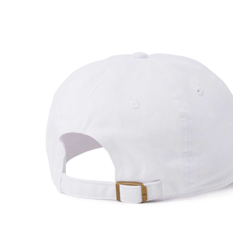 birds-of-condor-white-golf-ball-neverfind-dad-cap-hat-front