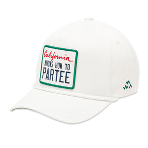 birds-of-condor-white-golf-california-knows-how-to-partee-snapback-a-frame-hat-front