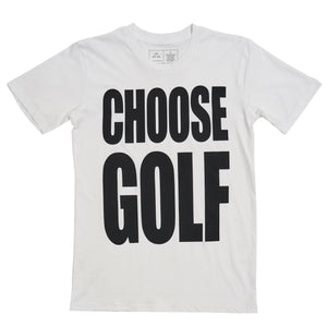 birds-of-condor-white-golf-tee-shirt-choose-golf-life-front